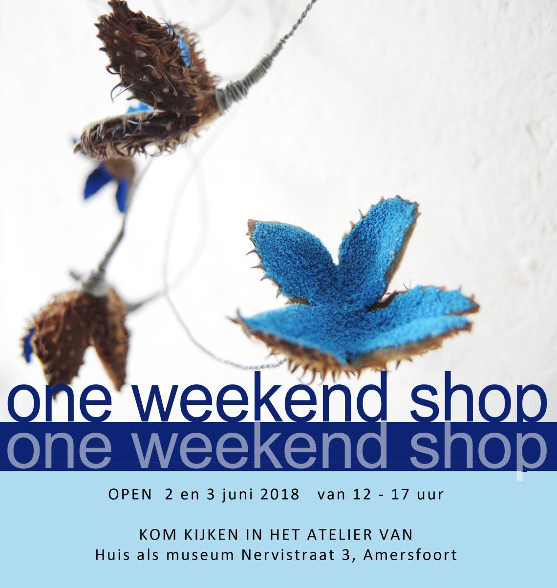 affiche One weekend shop2018 eerste zfb